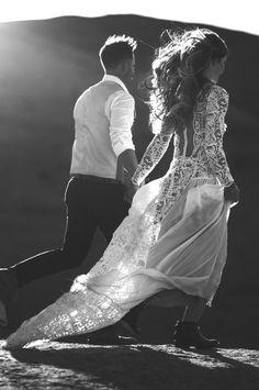 10 Modern, Romantic & Bohemian Australian Wedding Dresses