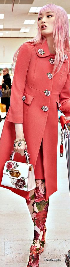 "Dolce & Gabbana FW 2018-19 Women's Collection ""A Blossoming Garden "" #DGWomen #DGRoseto #FW1819"
