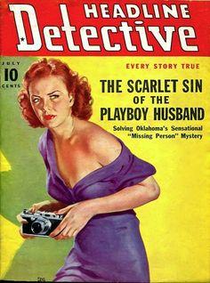 Headline Detective - July 1939