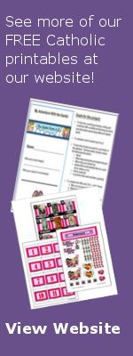 Great website with free printables for Catholics and home schoolers!