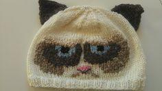 Grumpy Cat Crochet Hat Pattern Free : Knit/Crochet Hats on Pinterest Hat Patterns, Pattern ...