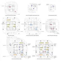 Architectural Drawings Of Skyscrapers office floor plan | _arh_ | pinterest | office floor plan