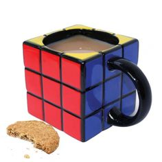 This Rubik's mug must take some of you back a few years...  Win an iPad3 - http://pinterest.com/uorlonline/competition  #office #gadget #gadgets #play #gizmos #officegear