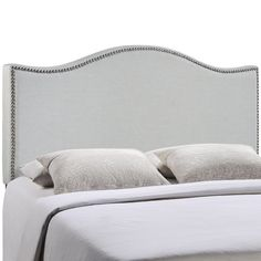Curl King Nailhead Upholstered Headboard | Overstock.com Shopping - The Best Deals on Headboards