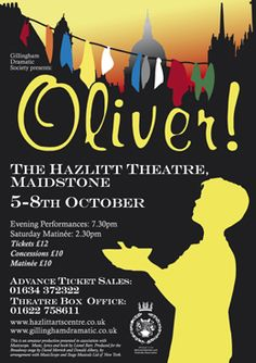 Oliver! Hazlitt Theatre.