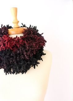 winter fashion, women accessories, 200 cm x 8 cm, 79 in x 4 in     This fringed long carf is knitted by me in very special wool and acrylic blend to