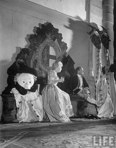 Charlie de Beistegui's 1951 costume ball at the Labia Palace in Venice