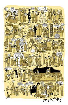 Alle Harry Potter Bände als Comic zusammengefasst