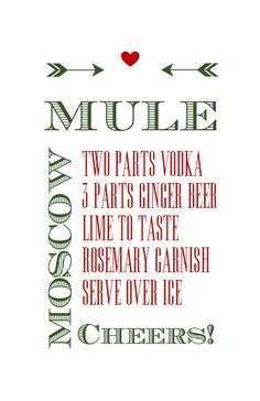 "This year everyone on my ""Nice"" list is getting a spirited holiday gift (sorry, couldn't resist the pun!) in the form of Moscow Mule Kits. I forgot to take a picture of the finished product, but su..."