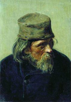 A Shy Peasant - Ilya Repin - WikiPaintings.org