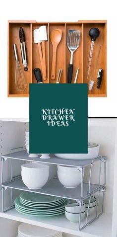 DIY Kitchen Drawer Ideas #kitchendrawer #drawer Diy Kitchen, Kitchen Ideas, Drawer Inspiration, Drawer Ideas, Drawer Design, Kitchen Drawers, Cool Kitchens, Diy Home Decor, Cabinets
