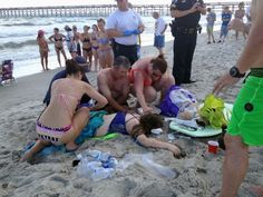 Officials: Teens stable after losing arms in N.C. shark attacks
