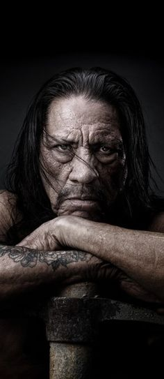 Danny Trejo as Hephestus, God of fire and the forge. Sons Of Anarchy, Celebrity Portraits, Celebrity Photos, Male Portraits, Danny Trejo, Boys Don't Cry, Talent Quotes, Tough Guy, Star Wars