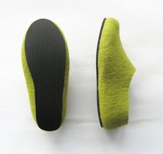 BLACK Anti Slip Sole for Felted Slippers Natural Rubber by ekohaus, $15.00