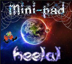 mini-pad heelal :: mini-pad-heelal