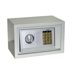 Instapark® E20DB Electronic Safe 550 Cubic Inches with Back-up Key, Color Beige by Instapark-Safe. $45.00. Keep your valuables out of reach from the wrong hands with the Instapark DB series electronic safe. Powered by 4 AA batteries, this electronic safe with heavy-duty steel construction keeps cash, jewelry, guns, documents and other valuables safe and secure and offers you a peace of mind, ideal for home use, office security & even traveling on the road. Electronic keypad...