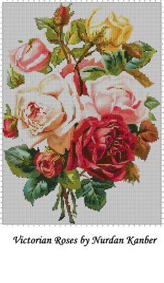 Cross Stitch Bird, Cross Stitch Flowers, Cross Stitching, Embroidery Patterns Free, Crochet Stitches Patterns, Cross Stitch Patterns, Hardanger Embroidery, Cross Stitch Embroidery, Hand Embroidery