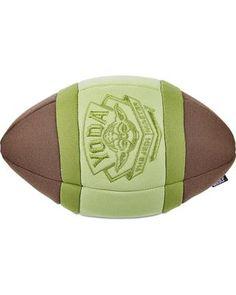 STAR WARS Yoda Plush Football Dog Toy       >>>>> Buy it now    http://amzn.to/2bD7rfA