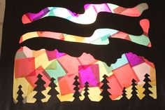 Stained Glass Northern Lights Activity    sparkedkids.com/subscribe/