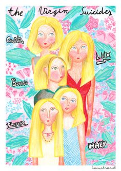 The Virgin Suicides on Behance