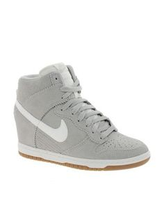 get cheap f1a5d 49844 Nike Dunk Sky High Grey Wedge Trainers
