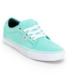Vans Chukka Low Seafoam Suede Skate Shoe Suede Skate Shoes 2204cc189