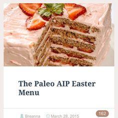 AIP Easter Menu @hew