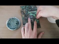 Made by Sannie: Grunge it up card with video tutorial