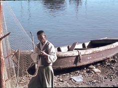 Korean Fisherman, Samch'ok, November 1945