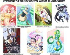 Znalezione obrazy dla zapytania Monster Musume