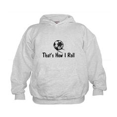 Soccer sweatshirt for the boys