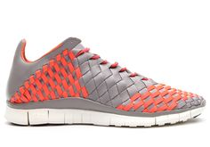 Nike Free Inneva Woven (Grey/Orange)