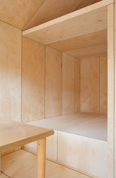 Liina Transitional Shelter. #plywood