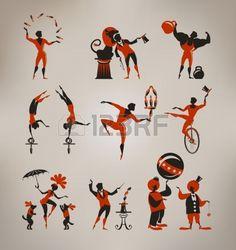 Circus artists