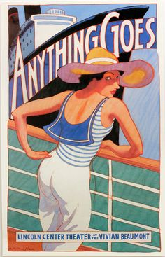 Anything Goes Poster ~ James McMullan | by Art of the poster