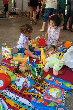 no blog: nossa terceira troca de brinquedos em Salvador