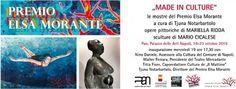 Napoli -Made in culture;, le mostre del Premio Elsa Morante 2016