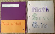 Mission: Math: Setting up Interactive Math Notebooks (INB, MSG)
