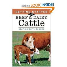 Getting Started with Beef & Dairy Cattle - by: Heather Smith Thomas