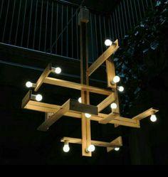 Lampa av lastpallar