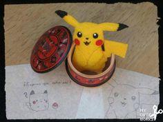 Broche de fieltro de Pikachu de Pokémon
