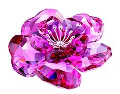 Darose, Swarovski Crystal Red/Pink (Swarovski) - Crystal-Fox Gallery