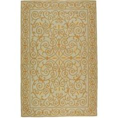 Shop for Safavieh Hand-hooked Chelsea Irongate Light Blue Wool Rug (8'9 x 11'9). Get free shipping at Overstock.com - Your Online Home Decor Outlet Store! Get 5% in rewards with Club O! - 14476556