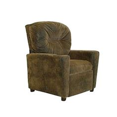 This Brown Bomber Child Theater Recliner Chair with Cup Holder will make a statement in any living room or playroom. Your child will love having a spot to rest his/her drink while enjoying a movie or reading a book. This high-quality Brown Bomber Chair comes in a variety of kid-durable fabrics... more details available at https://furniture.bestselleroutlets.com/children-furniture/chairs-seats/recliners/product-review-for-dozydotes-child-recliner-with-cup-holder-brown-bomber-d