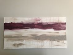 48x24 Huge abstract acrylic entitled Fine Line by CanvasesbyJenn, $125.00  I bought this for our living room! In love with it!