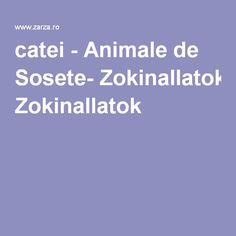 catei - Animale de Sosete- Zokinallatok Bramble