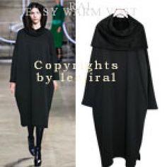 Convertible Hood Cape Dress