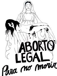 Muros Feministas — ABORTO LEGAL PARA NO MORIR!
