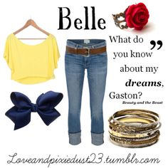 """""""Belle"""" by loveandpixiedust on Polyvore"""