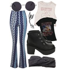 grunge hippie by melissa-casu on Polyvore featuring polyvore, mode, style, Forever 21 and Miss Selfridge